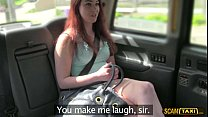 A wild experience by the hot girl from Netherland in the taxi Preview