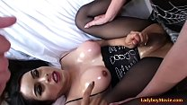 3some with Shemales Kartoon And Jonelle Brooks preview image
