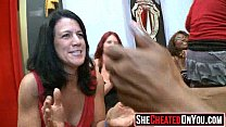 05 Awesome!  Cheating milfs fuck at stripper party 01