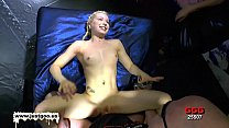 Innocent Young Blonde Gets Her Holes Filled Image
