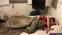Stepmom shares bed with stepson - Erin Electra Thumbnail