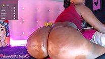 big booty colombian ebony on cam
