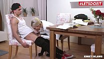 LETSDOEIT - Hot Big Ass MILF Mom Vanessa K. Tease And Bangs With Stepson At The Office