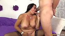 Old woman Leylani Wood likes young dick preview image