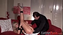 Blonde vixen ass fucked into submission before ...