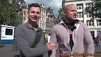 Dutch blonde hooker rides