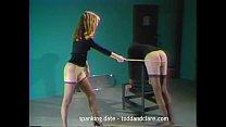 100 strokes hard caning