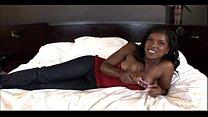 Amazing Black Ass is a Ebony Teen Freak in Amateur Black Porn Video image