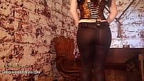 Merciless anal enslavement from strapon mistress Lady Julina