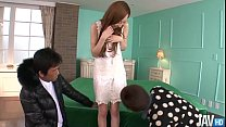 Erena Aihara Lo oks So Sweet In A Cream Lace D  A Cream Lace Dress With Panties That Match