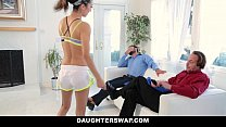 DaughterSwap - Helping Daughters Stretch and Fuck video