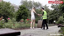 LETSDOEIT - Czech Tourist Ria Sun Gets Caught And Fucked By Dirty Policeman thumbnail