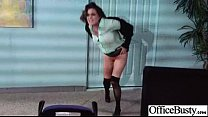 Hard Sex Action With Slut Big Tits Office Girl (krissy lynn) video-22