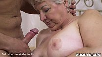 Rob's Happiest Day as Super Horny GILF Astrid jumps in Bed with Him