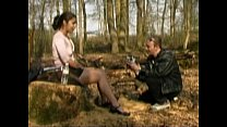 Image: FRENCH CASTING n6 petite brunette teen in a forest.240p -More on CASTING-COUCH.ML