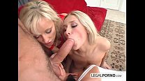 Three sexy young chicks taking a big cock in their asses TS-10-01 thumbnail