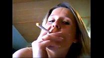 Blonde girl smoking blowjob - More at 69porncams.com