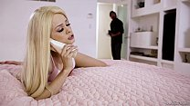 Stepdad caught her daughter having phone sex - Elsa Jean preview image