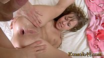 Kumalott - Tiny Teen With bangs Taking Huge Ste...