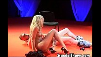 Hot Blonde Fucks At Strip Show