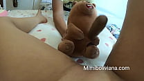 My ted put that dildo in my pussy tilm i came and squirt