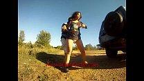 Vidéo Couche en 4x4 in diaper