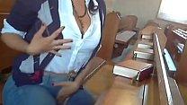 Masturbación pública video
