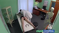 FakeHospital Passionate redheads tight pussy causes creampie from doctor thumbnail
