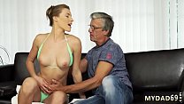 3d old Sex with her boyfriend´s father after swimming pool thumbnail