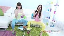 Download video bokep Barely legal teens Luna Rival & Rebecca Volpett... 3gp terbaru