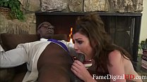 White Teen 18yo Daughter Can't Resist Her BLACK Dads BBC