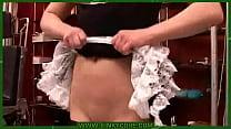 The maid's cruel punishment