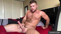Handsome Jack Andy masturbates for good