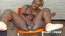 Sexy Chocolate Babe Alexia Bonet Creams and Squirts image