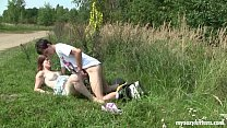 Busty teen Charlotte gets nailed outdoors Vorschaubild