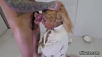 Wicked girl is taken in anus asylum for uninhibited therapy