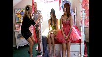 Kelly Madison Lets Her Husband Fuck Two Teen Girls On Their Prom Night