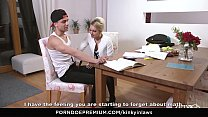 KINKY INLAWS - Stepson gets to please Czech stepmom Vanessa K. in steamy forbidden fuck صورة
