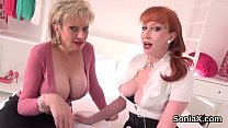 Cheating english milf lady sonia exposes her mo...