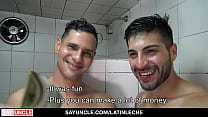 In The Shower With Some Help From A Friend