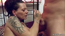 German Monster Tit MILF Seduce to Fuck after Massage Vorschaubild
