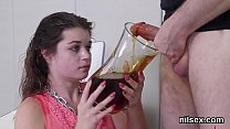 Horny teenie is brought in anal madhouse for uninhibited therapy
