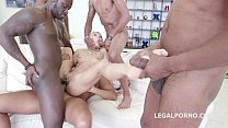 Lola Shine interracial Gangbang Party