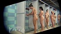 Peeping in the women's shower room Image