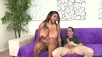 Chubby Danny Lynn Shows Off Her Big Tits and Gets Her Pussy Drilled Preview