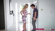 Bad Step Mom Cherie Deville And Daughter Karter Foxx Share Bf Cock