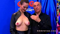 German Slut Gets Cumshots From Shaved Cocks