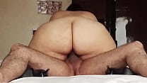 Big Ass Ridding cum speaking spanish