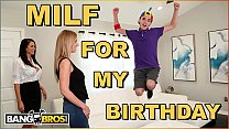 BANGBROS - Juan El Caballo Loco Gets Hot MILF Reagan Foxx For His Birthday