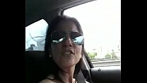 Argentina on tits sings Marama while driving